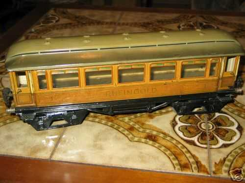 maerklin 1749/1 spielzeug personenwagen rheingoldwagen violett creme spur 1