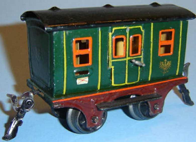 maerklin 1802/0 spielzeug eisenbahn postwagen spur 0