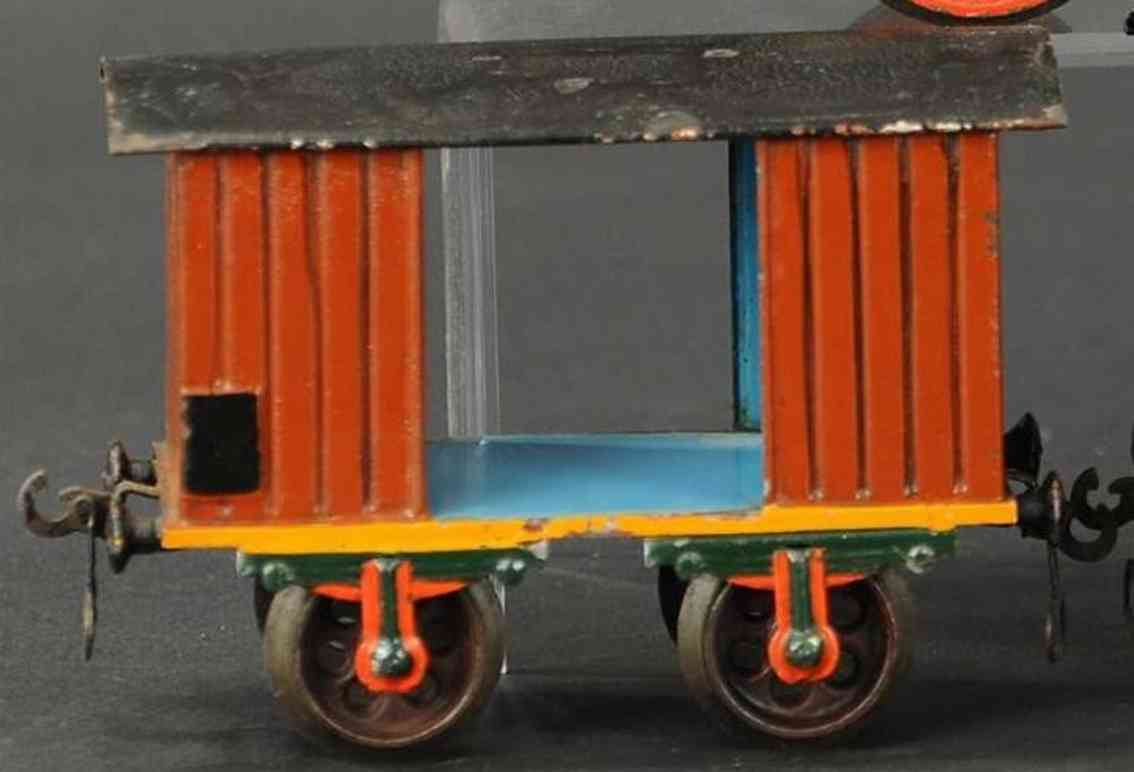 maerklin 1803/II spielzeug eisenbahn personenwagen gepaeckwagen brauns spur 2