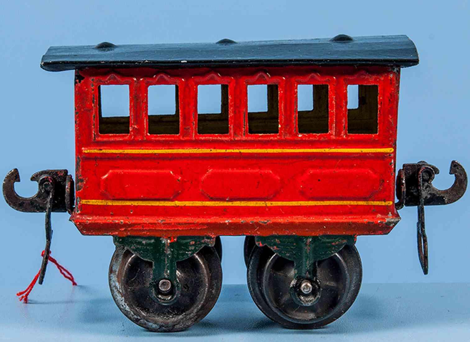 maerklin 1805/0 spielzeug personenwagen abteilwagen rot spur 0