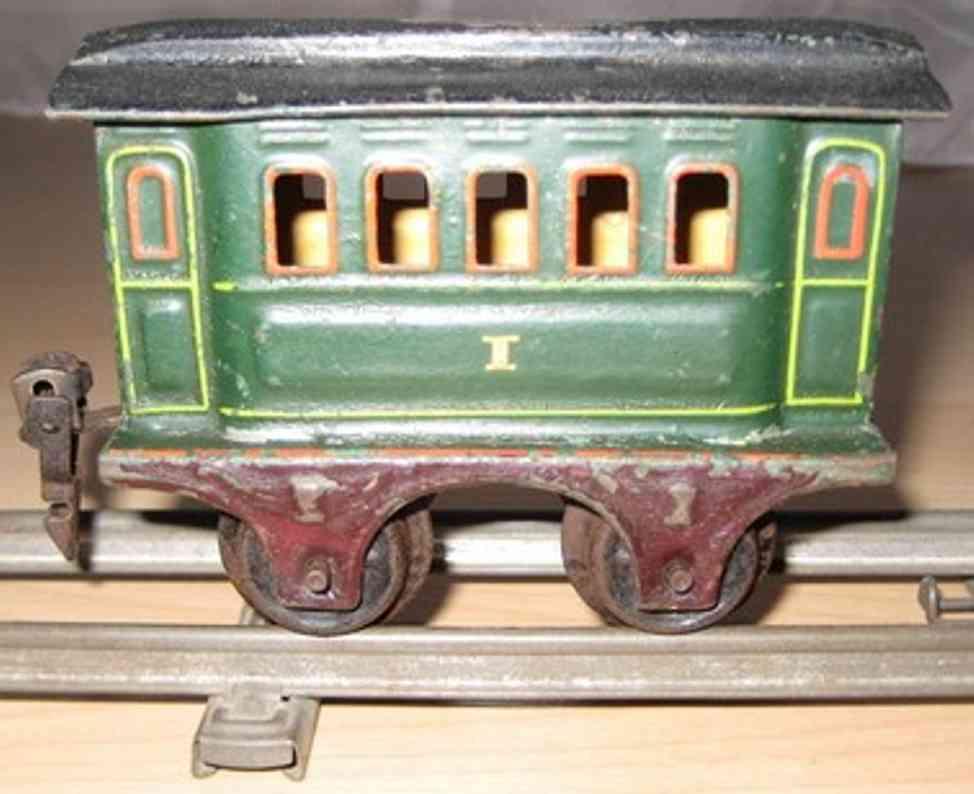 maerklin 1805/0 spielzeug eisenbahn personenwagen gruen spur 0