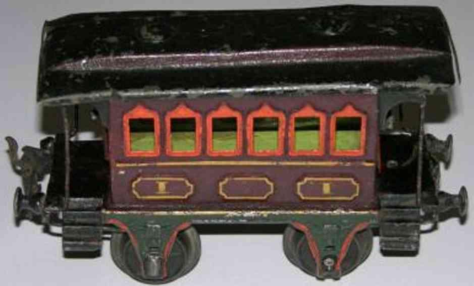 maerklin 1805/1 spielzeug eisenbahn personenwagen spur 1