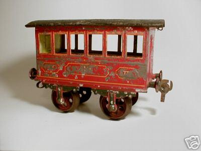 maerklin 1805/II spielzeug eisenbahn personenwagen gruen spur 2