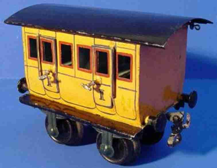 maerklin 1806/1 spielzeug eisenbahn personenwagen abteilwagen spur 1