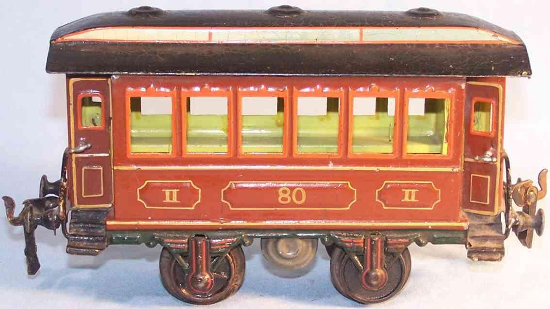 maerklin 1821/1 spielzeug eisenbahn durchgangswagen spur 1