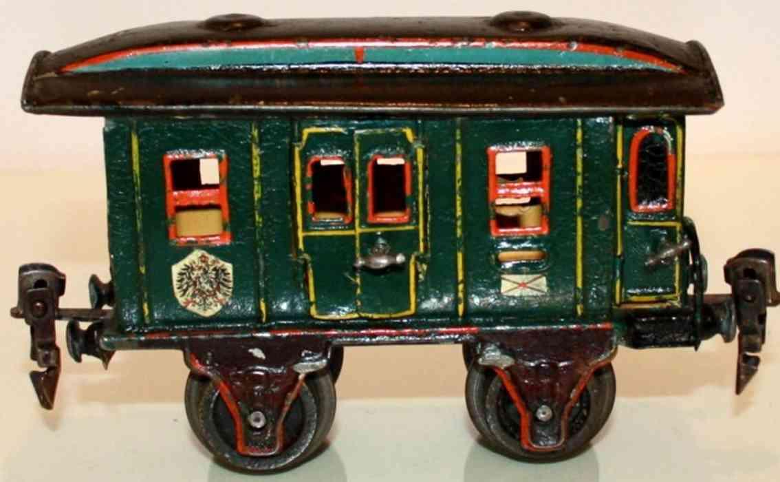 maerklin 1822/0 spielzeug eisenbahn postwagen gruen spur 0