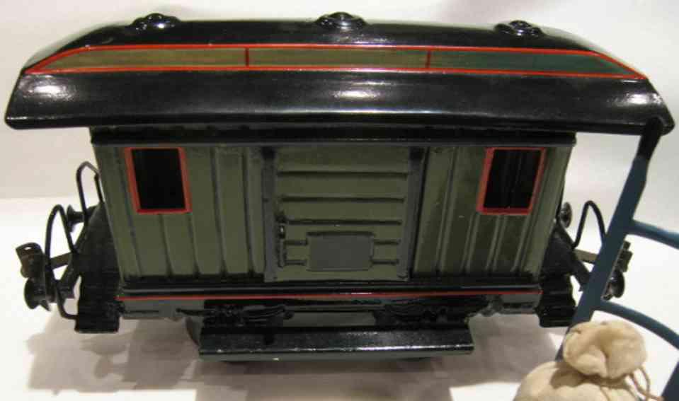 maerklin 1823/1 spielzeug eisenbahn gepaeckwagen olivgruen spur 1