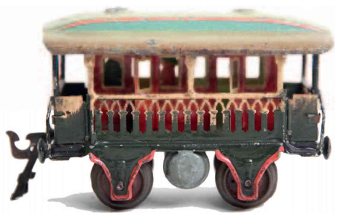 marklin maerklin 1824/0 observation car with gothic windows gauge 0