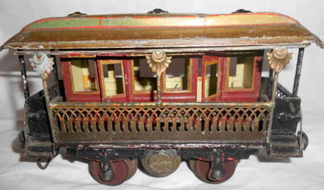 maerklin 1824/1 aussichtswagen gotische fenstern spur 1