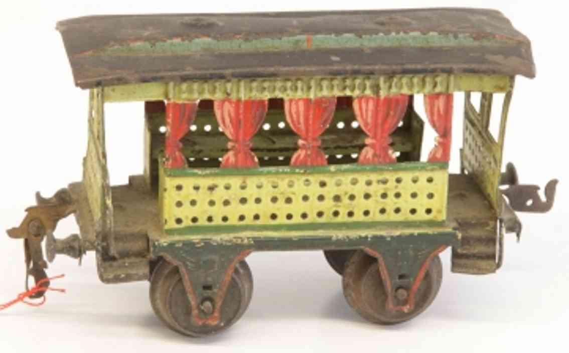 maerklin 1825/1 spielzeug eisenbahn sommerwagen gelb gruen spur 1