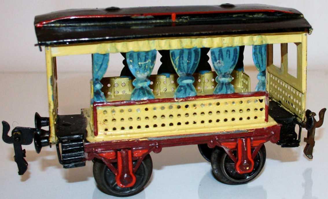 maerklin 1825/1 spielzeug eisenbahn sommerwagen gelb spur 1