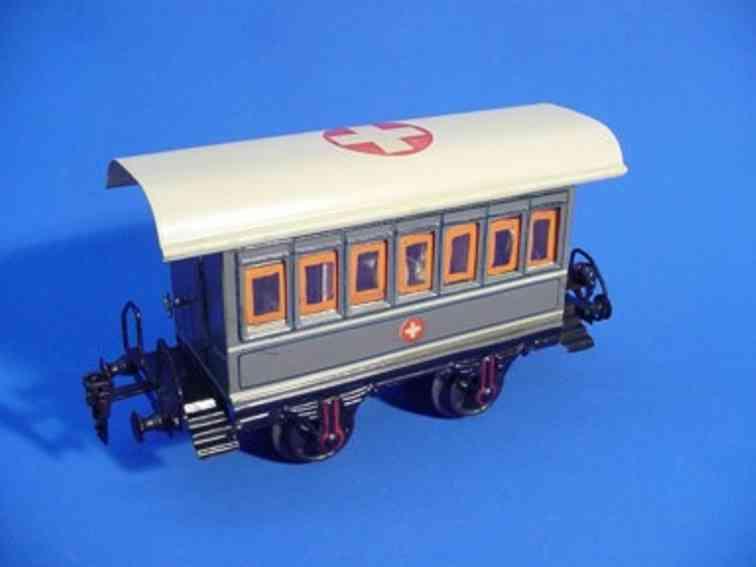 maerklin 1828/1 op personenwagen sanitaetswagen hellgrau spur 1