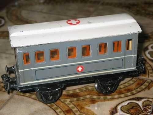 maerklin 1829/1 spielzeug eisenbahn sanitaetswagen spur 1