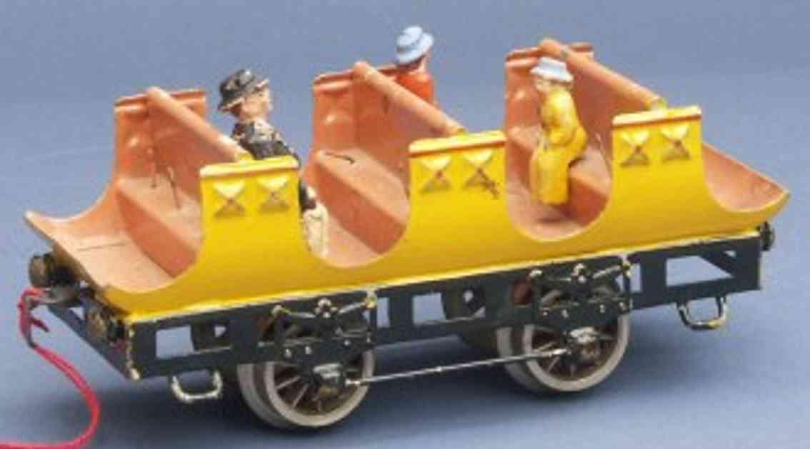 maerklin 1834/0 spielzeug eisenbahn personenwagen adler gelb spur 0
