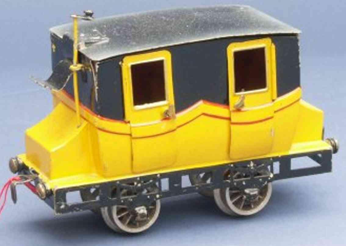 maerklin 1835/0 b spielzeug eisenbahn personenwagen gelb spur 0