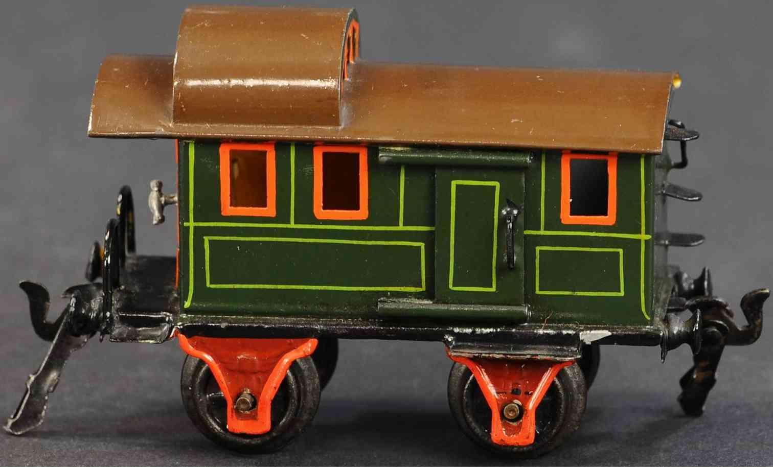 maerklin 1836/0 spielzeug eisenbahn gepaeckwagen gruen spur 0