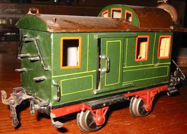 maerklin 1836/1 spielzeug eisenbahn gepäckwagen gruen spur 1