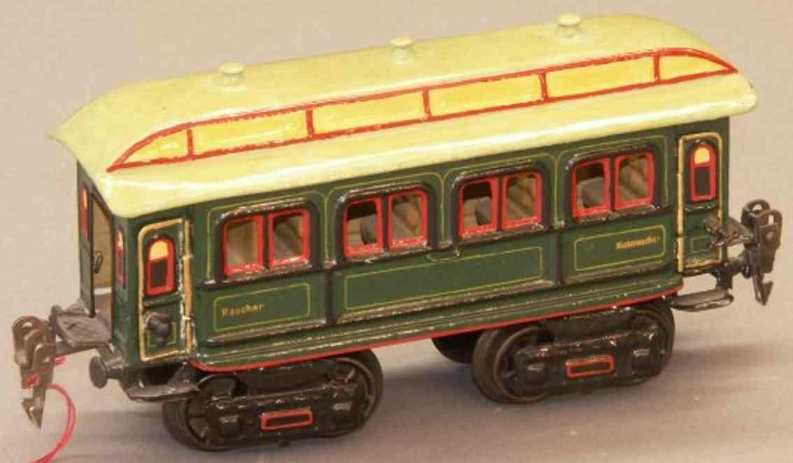 marklin maerklin 1841/0 railway toy passenger car green gauge 0