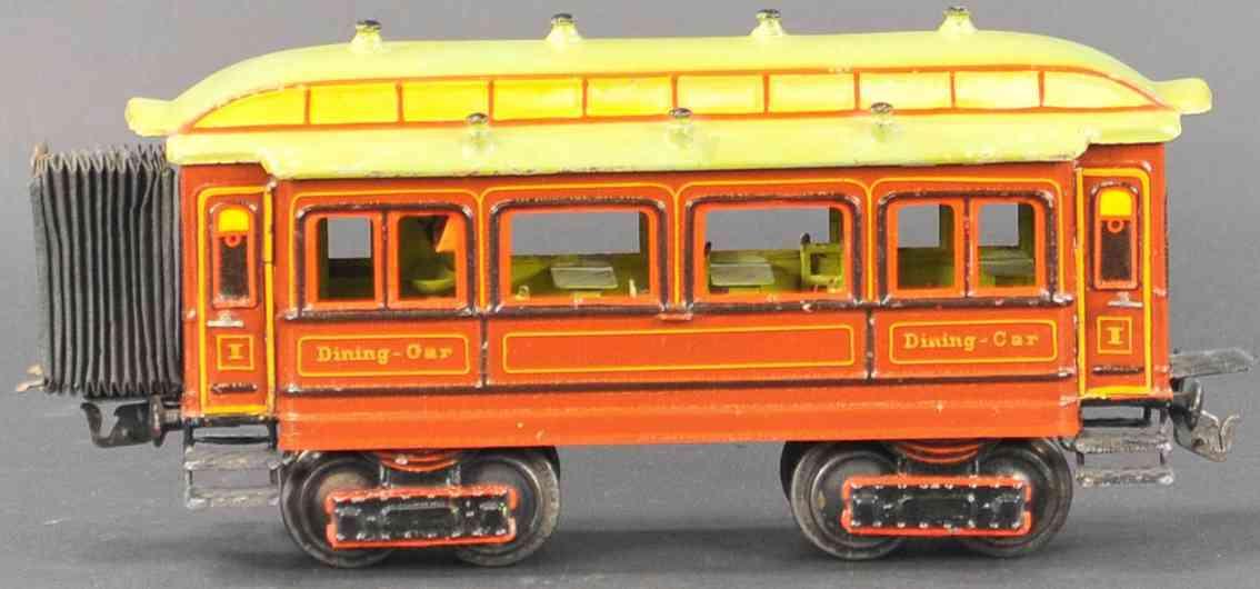 marklin maerklin 2964/1 railway toy english dining car gauge 1
