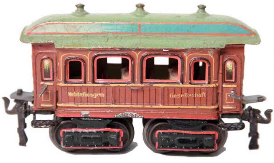 maerklin 1843/0 eisenbahn personenwagen teakbraun spur 0