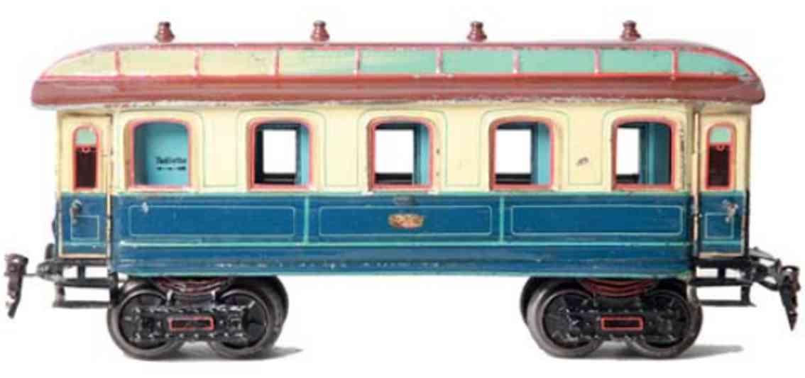 maerklin 1843/1 K spielzeug eisenbahn kaiserlicher schlafwagen #1843/1 k; 4-achsig; handlackiert i