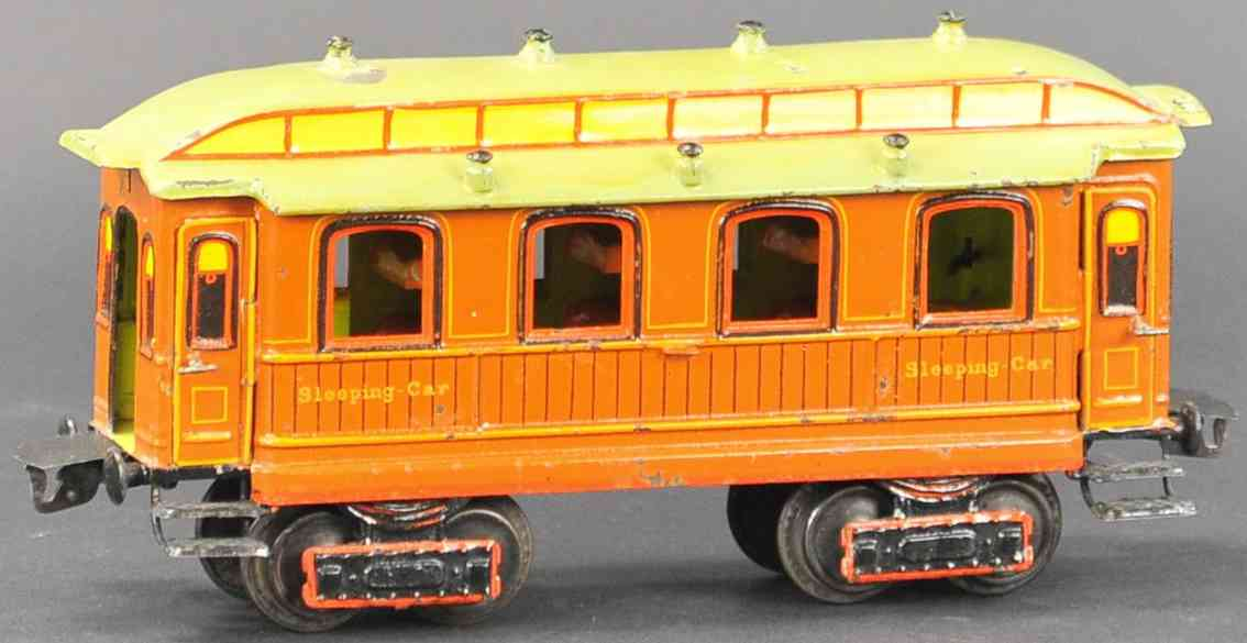 marklin maerklin 1843/1 1902 railway toy english sleeping car gauge 1