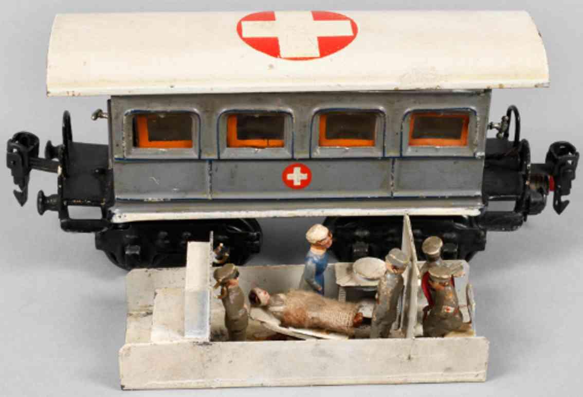 maerklin 1848/0 op spielzeug eisenbahn sanitaetswagen operationsraum apotheke spur 0