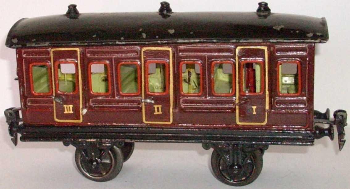 maerklin 1856/1 eisenbahn personenwagen abteilwagen spur 1