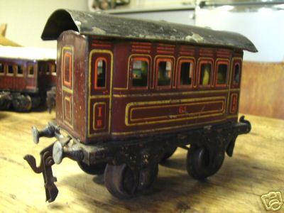 maerklin 1861/1 spielzeug eisenbahn personenwagen braun spur 1