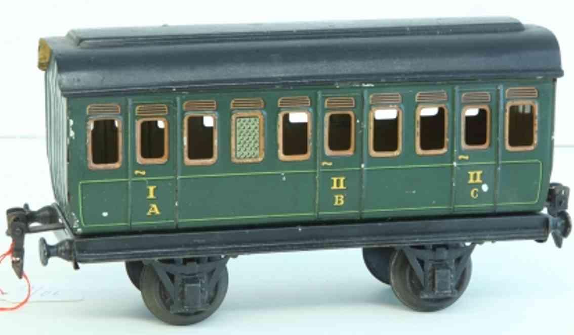 maerklin 1864/1 spielzeug eisenbahn personenwagen gruen spur 1