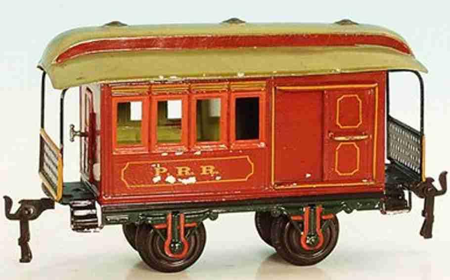 maerklin 1875/1 spielzeug eisenbahn amerikanischer personenwagen spur 1