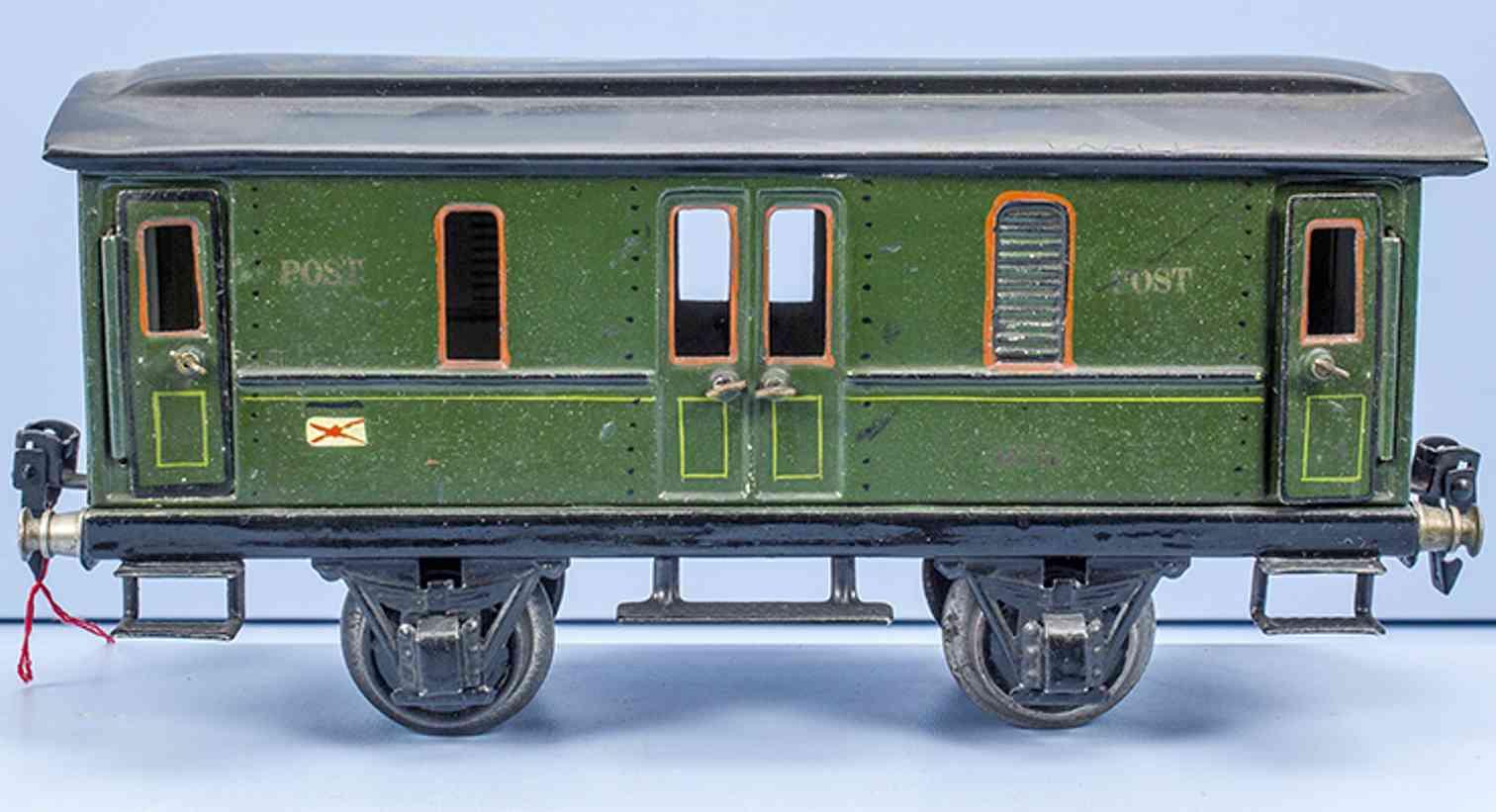 marklin maerklin 1876/1 1930 railway toy mail car gauge 1