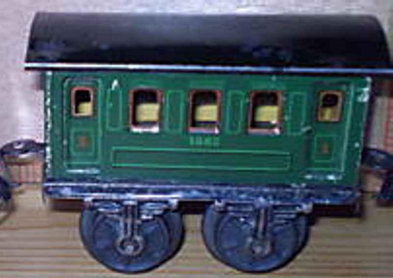 maerklin 1882/0 spielzeug eisenbahn personenwagen gruen spur 0