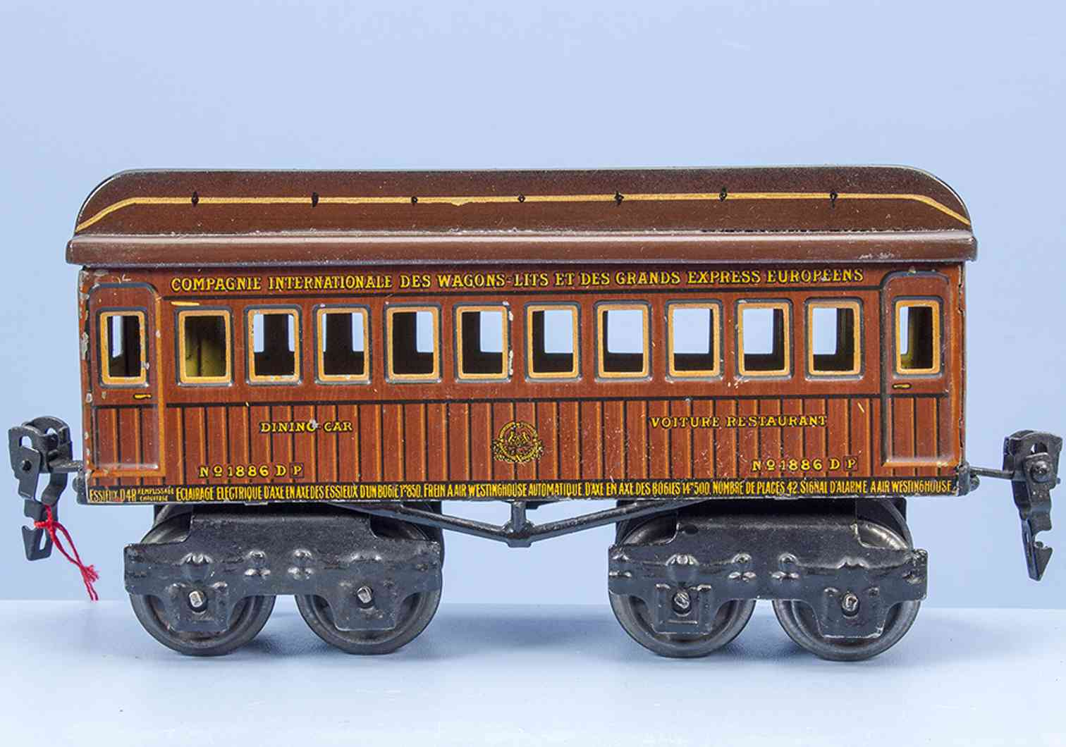 marklin maerklin 1886/0 sp 1915 railway toy international dining car gauge 0