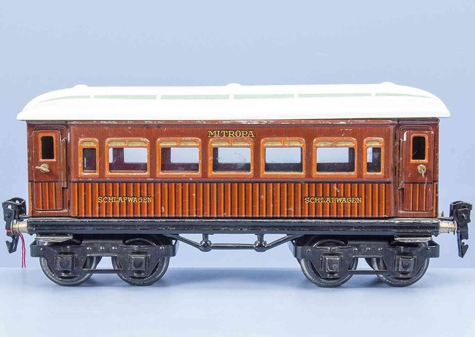 maerklin 1886/0 sch 1929 spielzeug eisenbahn mitropa schlafwagen spur 0