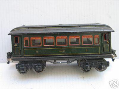maerklin 1888/0 p spielzeug eisenbahn personenwagen gruen spur 0