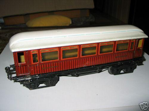 maerklin 1888/1 sp/br spielzeug eisenbahn speisewagen teakbraun spur 1