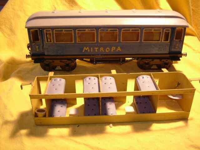 maerklin 1888/1 p spielzeug eisenbahn personenwagen gruen spur 1