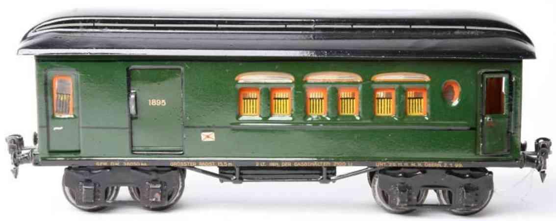 maerklin 1895/1 spielzeug eisenbahn gepaeckwagen spur 1