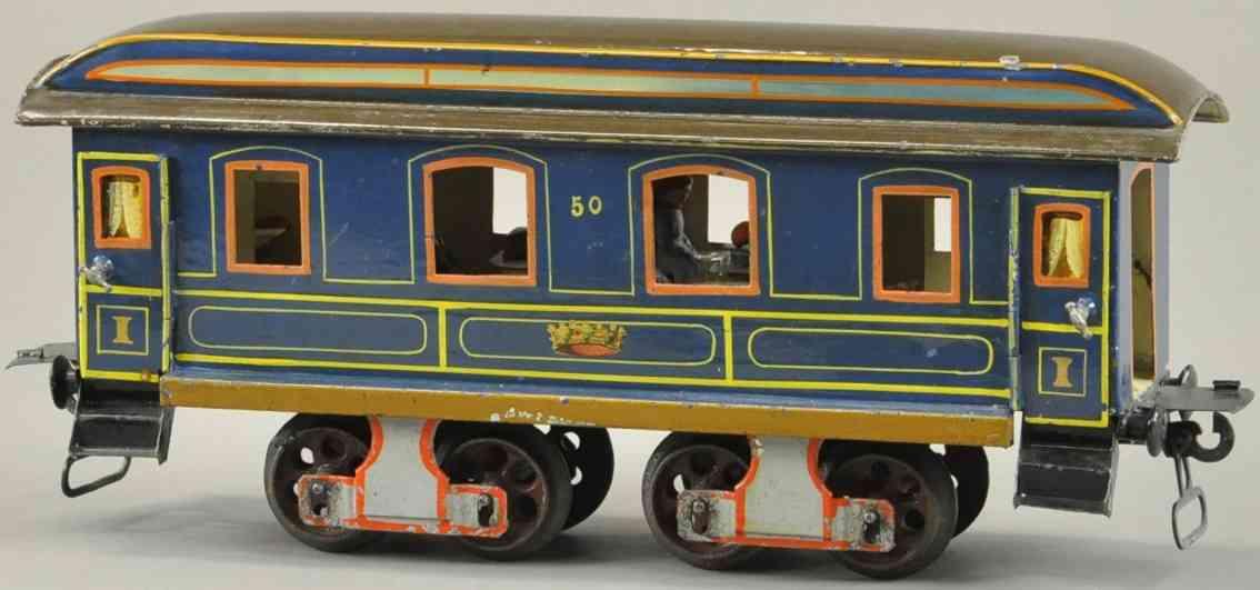 maerklin 1896/1 k eisenbahn kaiser speisewagen erste version blau spur 1