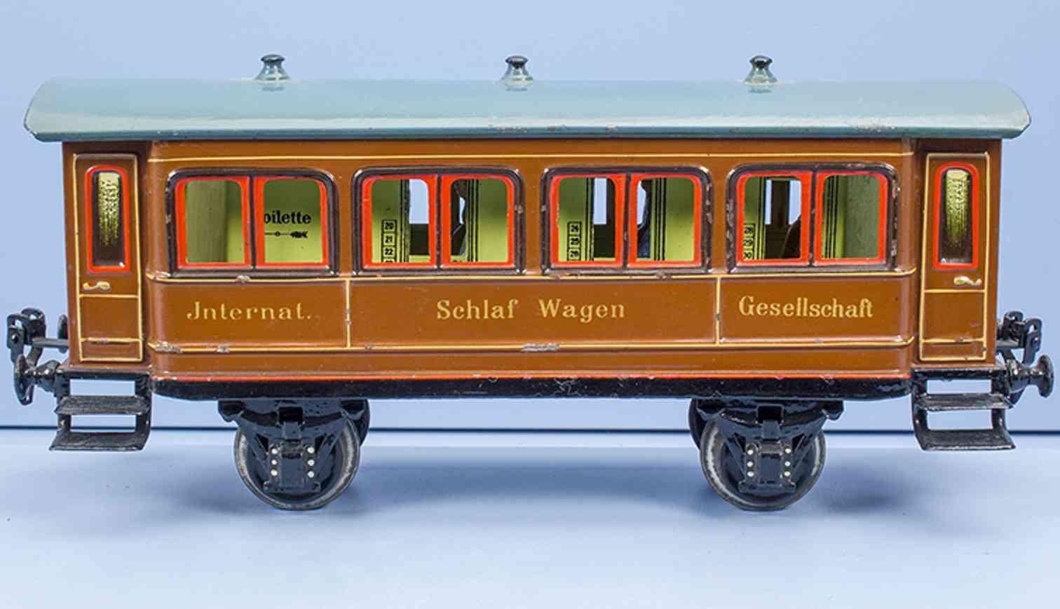 maerklin 1943/1 1909 spielzeug eisenbahn schlafwagen spur 1