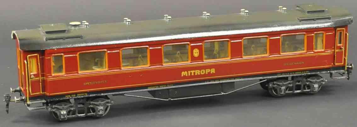 maerklin 1946/1 g eisenbahn speisewagen mitropa spur 1
