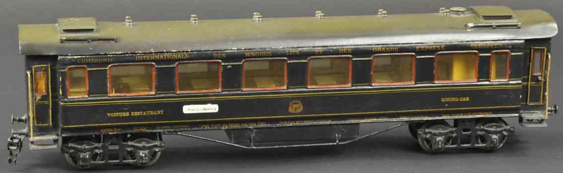 maerklin 1946/1 g eisenbahn speisewagen blau spur 1