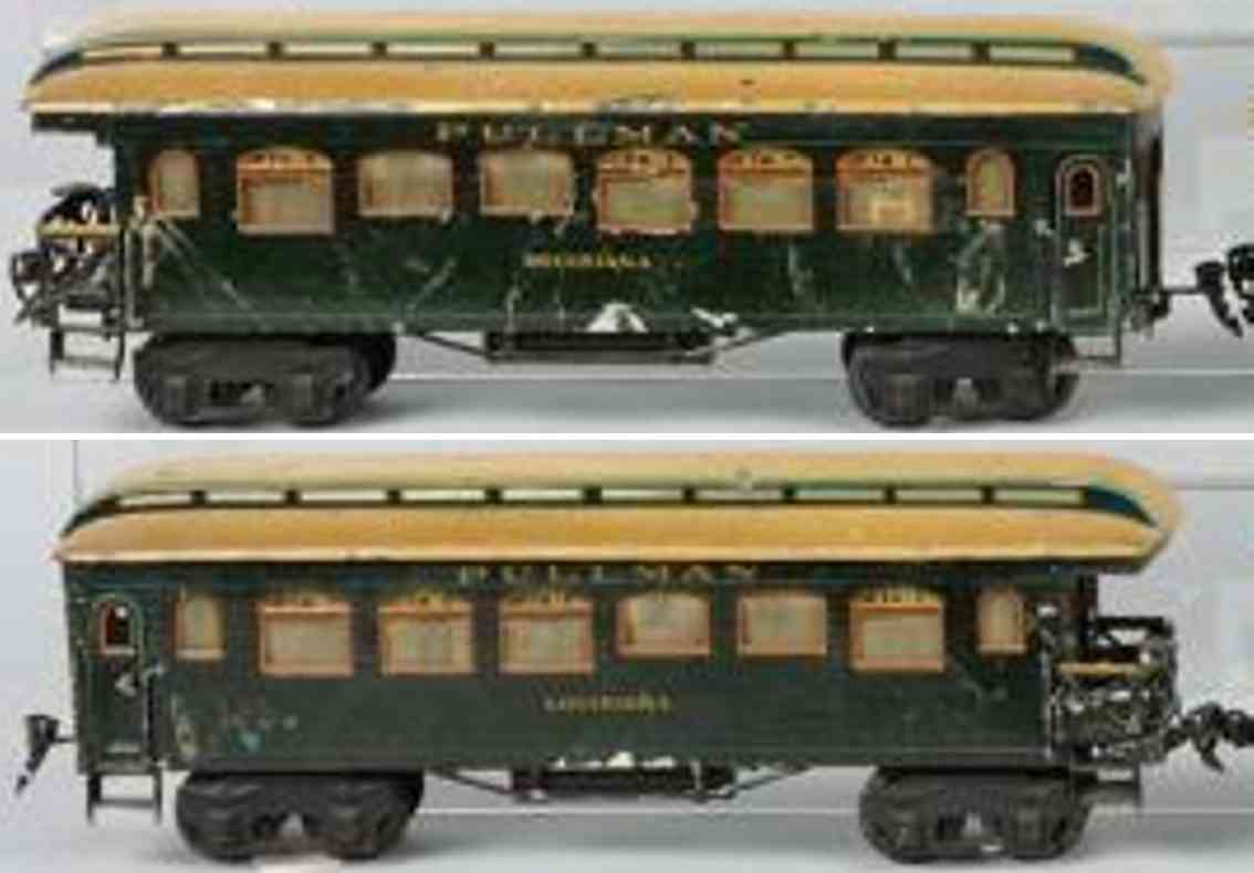 maerklin 2966/1 spielzeug eisenbahn amerikanischer pullmannwagen jefferson spur 1