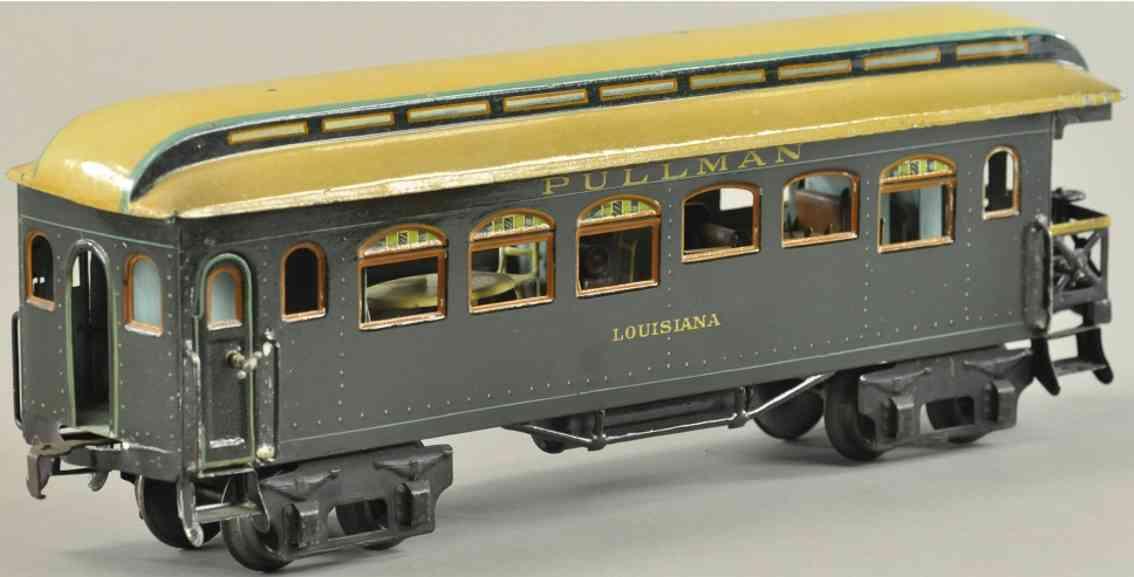 maerklin 2968/1 spielzeug eisenbahn amerikanischer pullmannwagen louisiana spur 1