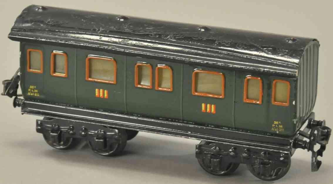 maerklin 1945/0 plm eisenbahn franzoesischer personenwagen spur 0