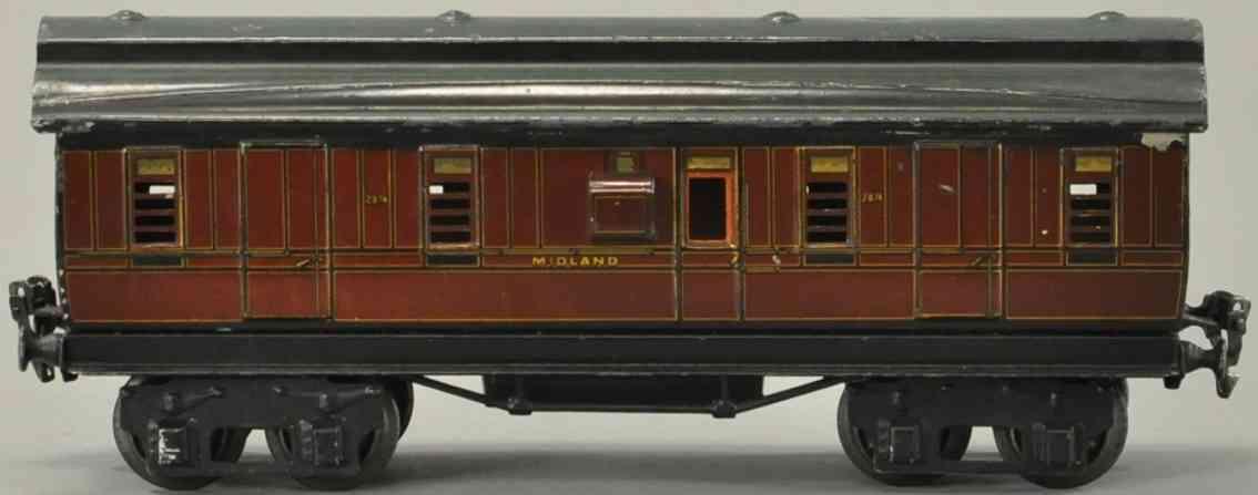 maerklin 2874/0 mr personenwagen englischer gepaeckwagen spur 0
