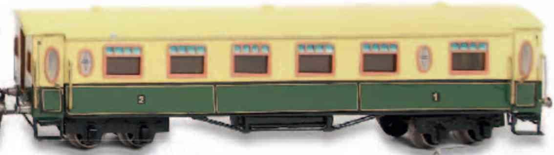 marklin maerklin 2890 nl dutch trailer car green yellow gauge 0