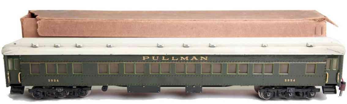 maerklin 2924 pullmann personenwagen gruen spur 0