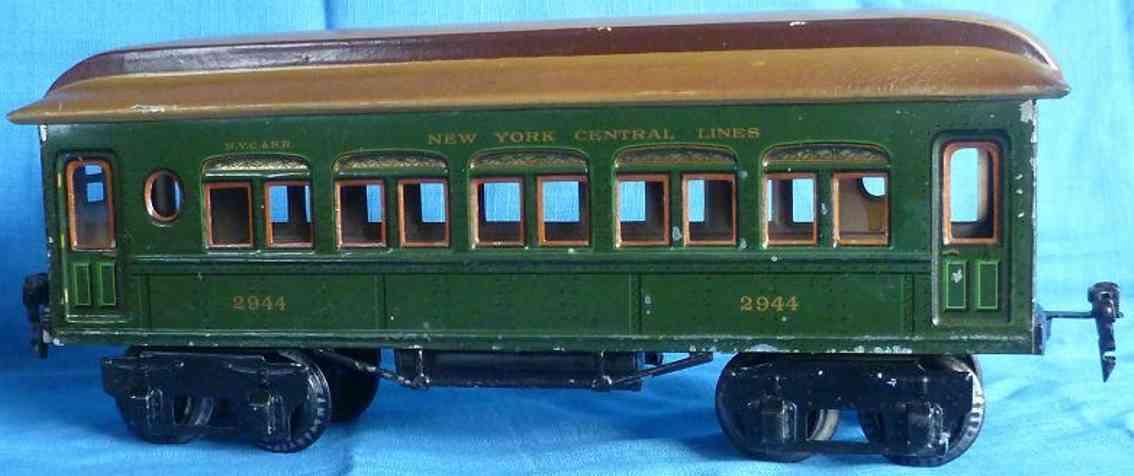 maerklin 2944/1 spielzeug eisenbahn amerikanischer personenwagen gruen spur 1